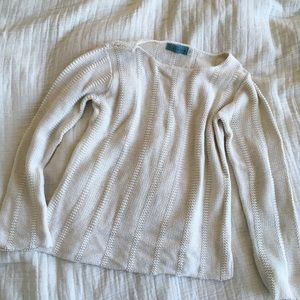 Mermaid from Anthropologie cotton knit sweater
